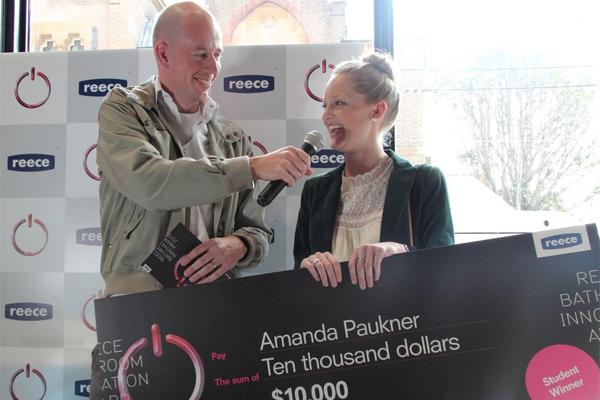 Reece BIA Justin Wagemakers Amanda Paukner Student Winner