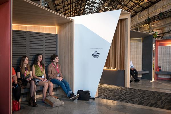 indesign podium galleria sydney indesign