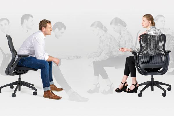 BeLite Flirty Office Scene