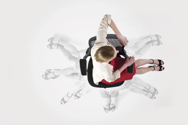 BeLite Spin Chair Aerial Scene