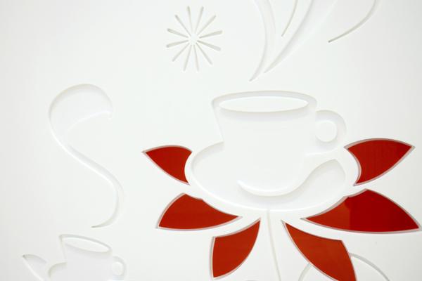 Crema Espresso detail Carindale Westfield Staron