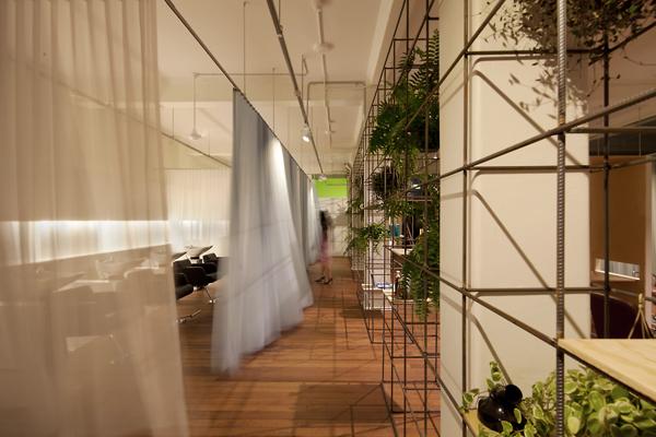 facet studio blu creativity curtains passage