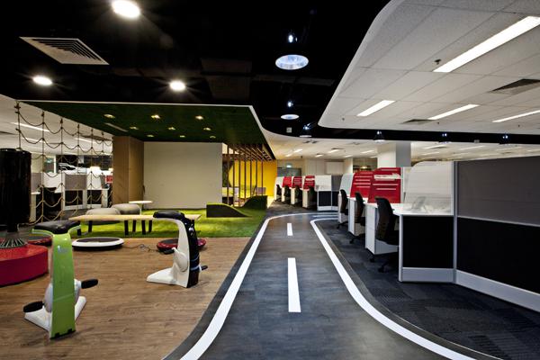 Singapore calling singtel indesignlive daily for Corporate interior design singapore