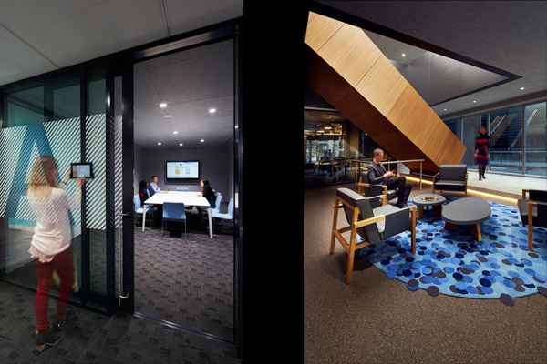 AIM Sydney meeting room and reception