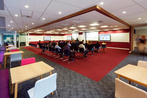 AIM Sydney 'the cube' training room