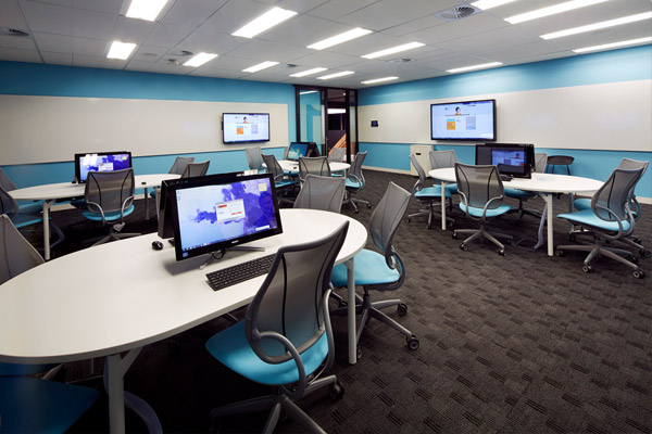 AIM Sydney training room