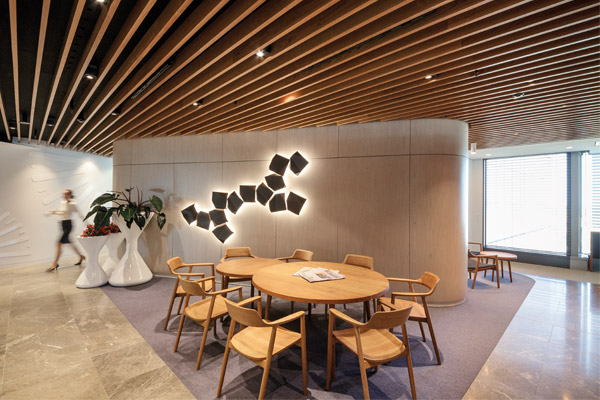 MARUNI S HIROSHIMA CHAIRS FOR HERBERT SMITH FREEHILLS Indesignlive Daily