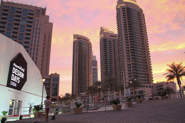 DDD2013_Outdoor-view-of-the-tent-_Downtown-Dubai
