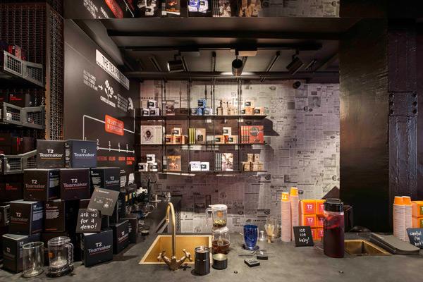 Australia's T2 Brand Debuts in London | Architecture & Design