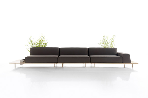 Design Koo International 'Mus' Sofaat AJAR Furniture.