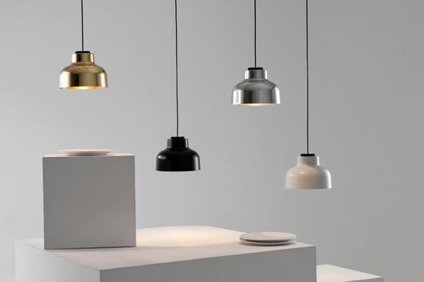Santa & Cole 'Max Bill' Hanging Lamps at AJAR Furniture