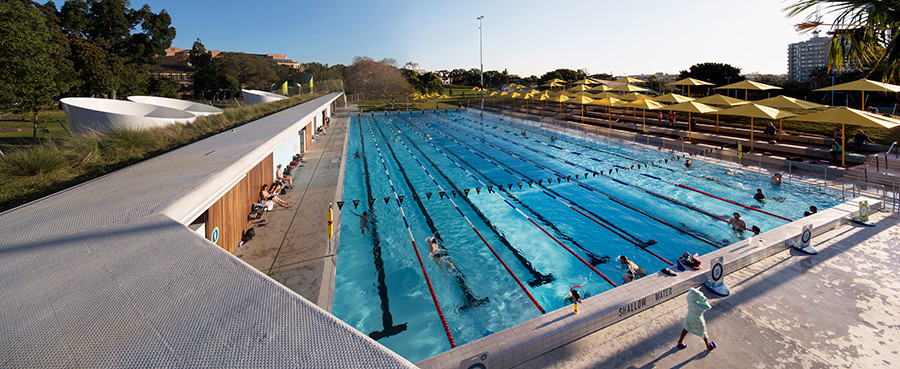 Prince Alfred Park Pool upgrade. Photo by Brett Boardman.