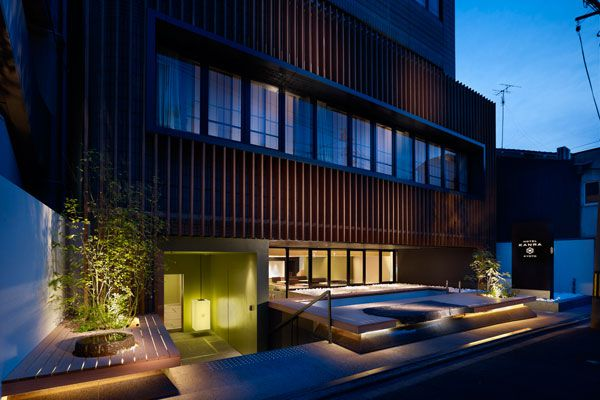 Hotel kanra kyoto indesignlive singapore daily for Design hotel kyoto