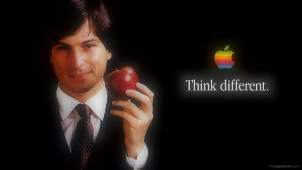 young-steve-jobs-with-apple-think-different-logo-7680x4320
