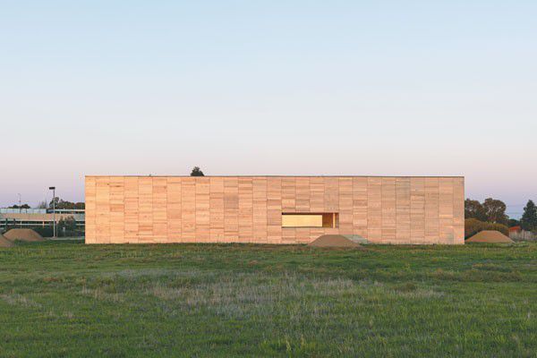 Why H2o Architects chose Red cedar for the Horsham Genebank
