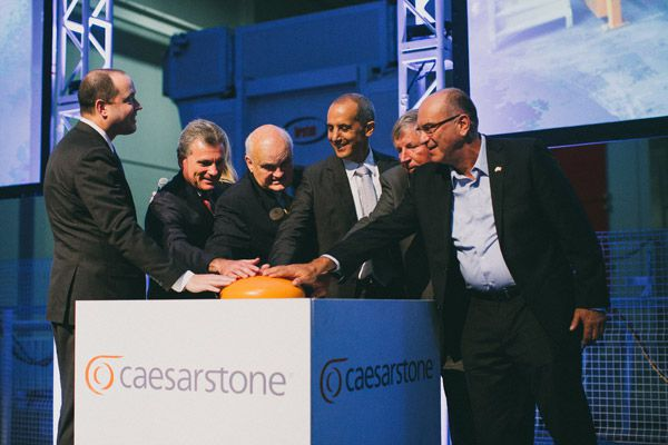 Caesarstone Opens USA Manufacturing Facility