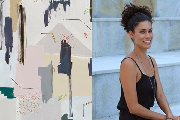 Danielah Martinez, textile + graphic designer and senior textile designer at Tappeti