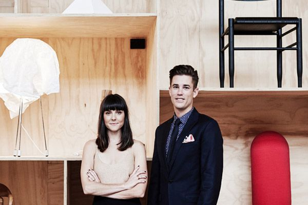 Rachel Fry and Amon Carson, owners and founders of Criteria Melbourne