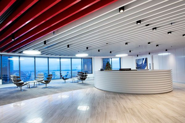 Sydney Law Firm Office Fitout by Corian®