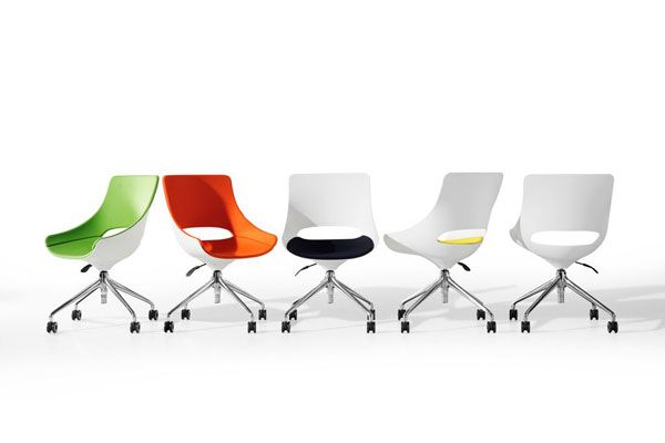 Playfulness and functionality meet in the Touch chair