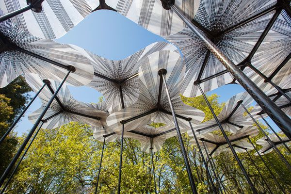 Amanda Levete's Forest Canopy-Inspired MPavilion unveiled