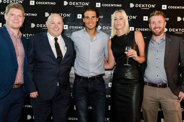 Cosentino and the Rafa Nadal Academy