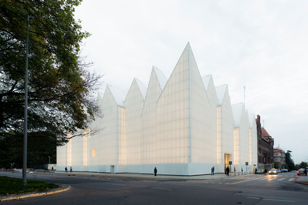 Szczecin Philharmonic Hall stands as an impressive display of architecture