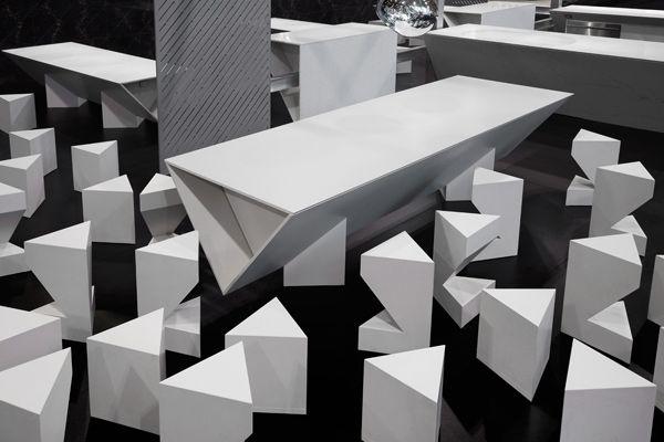 Tom Dixons iceinspired kitchen wows at Torontos Interior Design