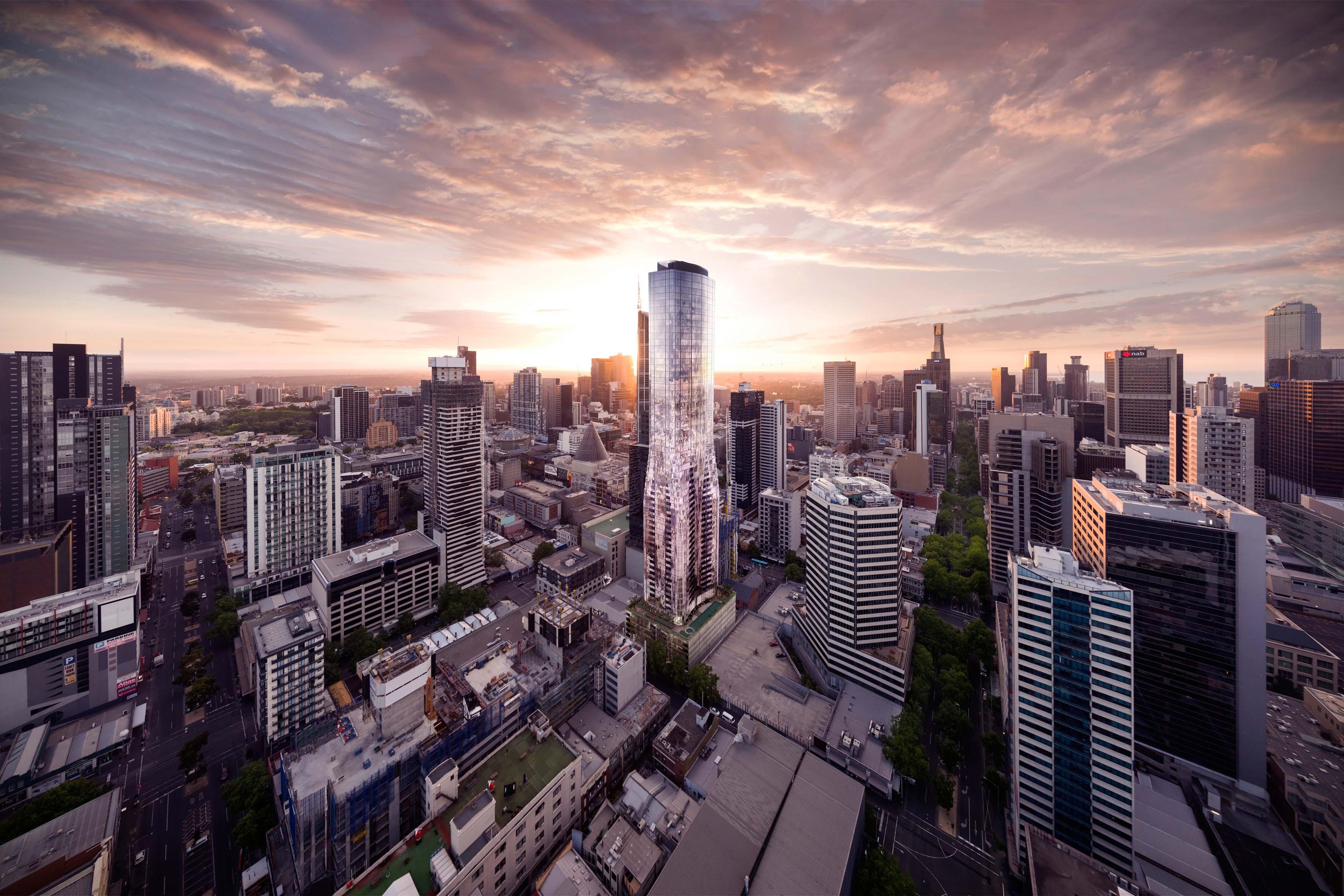 The designer details behind Elenberg Fraser's EQ tower