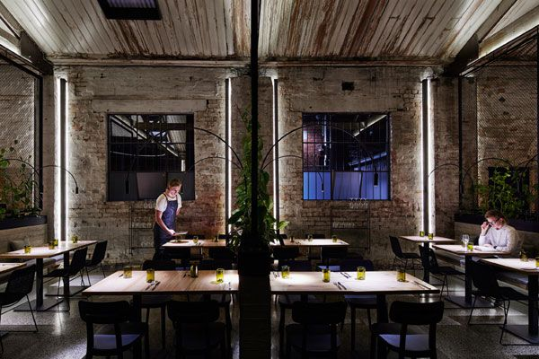 How Breathe Architecture transformed an industrial space into an experimental restaurant