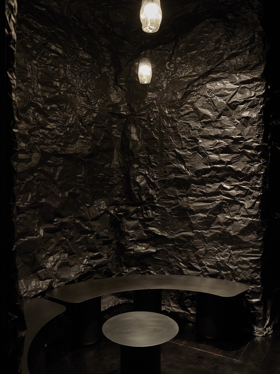 The low-lit Sarah & Sebastian consulting room.