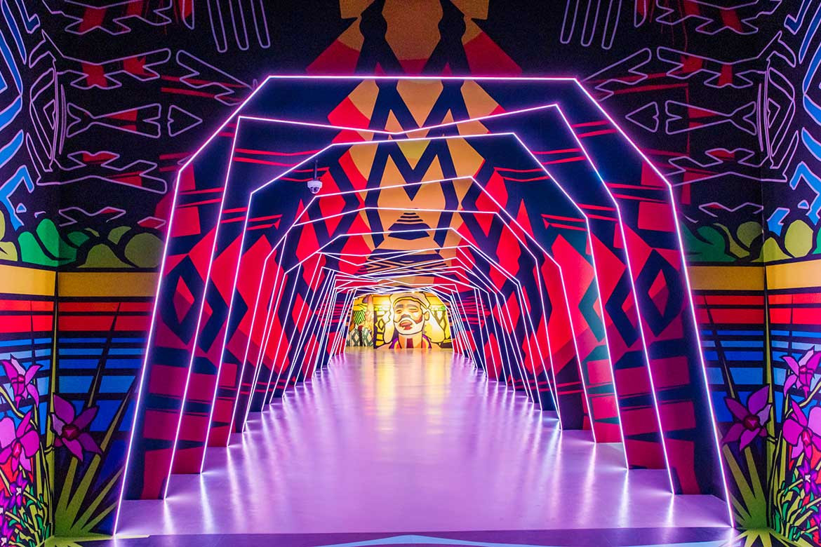 The Australian Pavilion at Dubai Expo is one you can't miss
