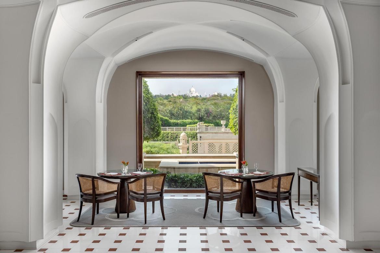 Classic meets contemporary design at Bellevue restaurant, Agra