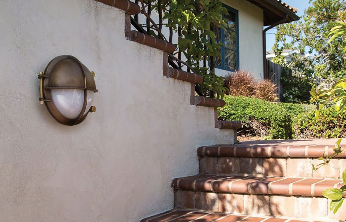 Outdoor Wall Luminaire Staircase