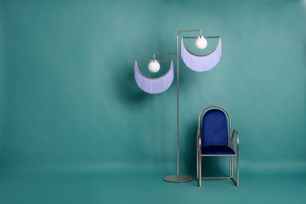 Arco chair and Wink light by Masquespacio for Houtique.