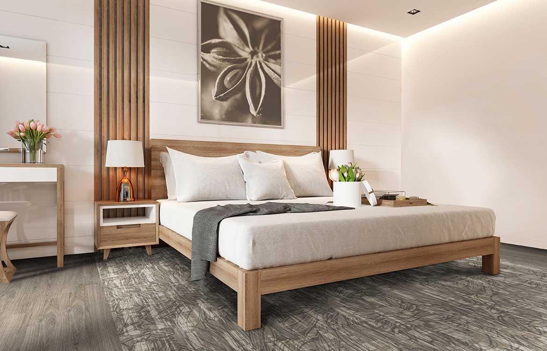 Grey Bedroom Floristics