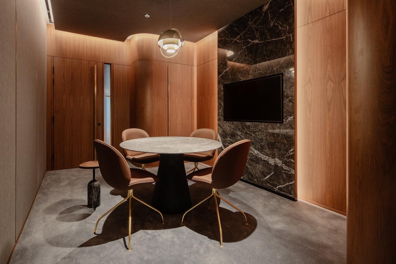 Meeting room in the Citi Wealth Hub