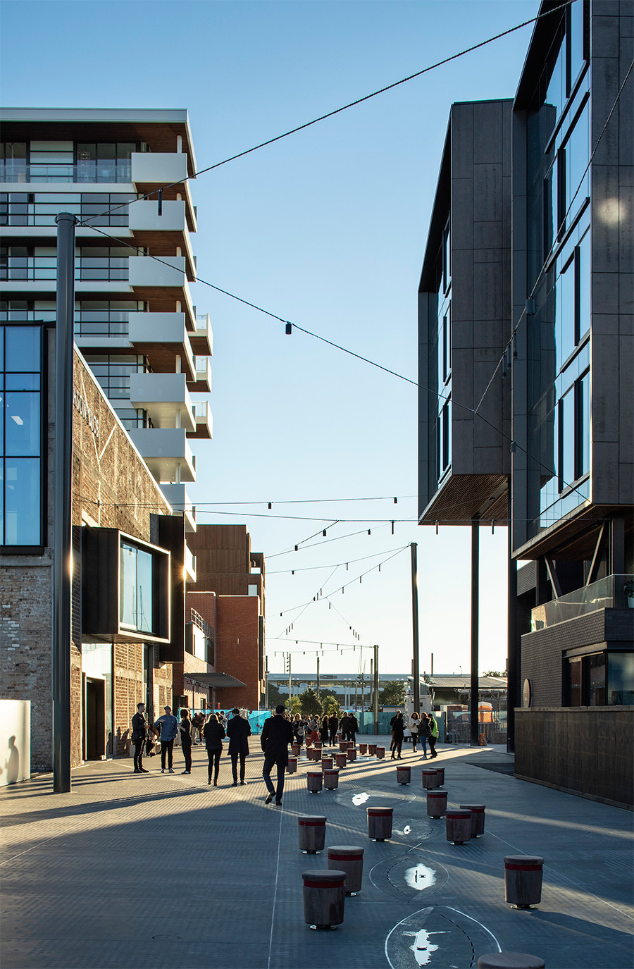 Wynyard Quarter is a major innovation hub in Auckland by Warren & Mahoney. Photo by Simon Dewitt.