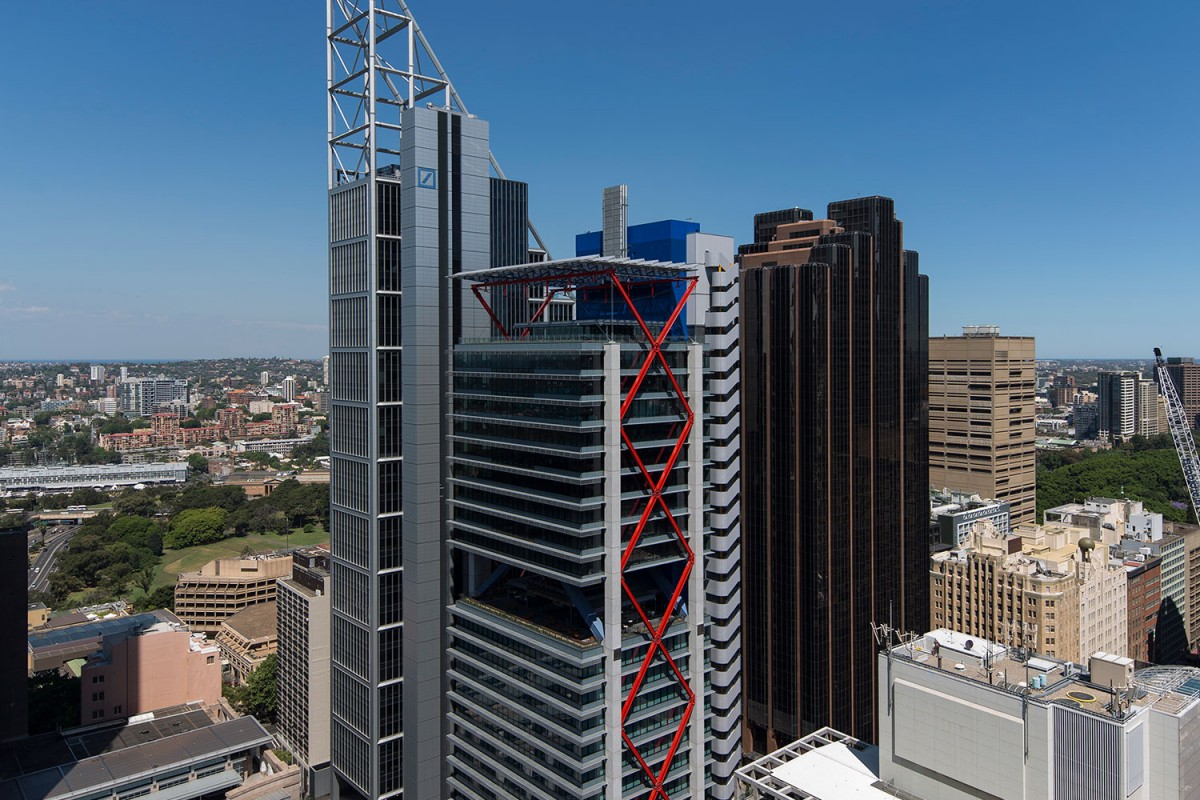 Smart Building of the year, sponsored by EBSA: 8 Chifley Square by Lippmann Partnership / Rogers Stirk Harbour & Partners.