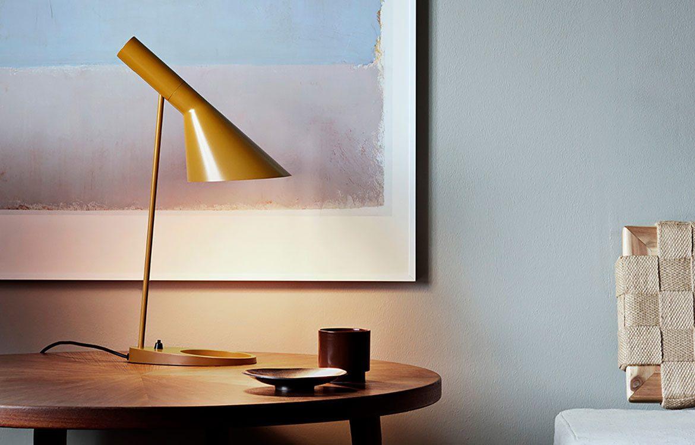 AJ Lamp Gold