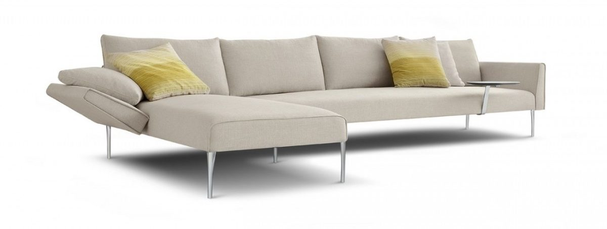 The hugely successful Andrea sofa that Charles Wilson designed for King Furniture in 2009. It has led to further collaborations.