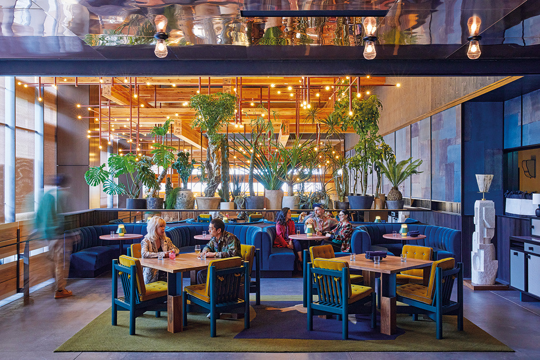 Establishments like Piopiko bar and taco lounge in Ace Hotel Kyoto are important for setting the tone in the hotel's forward-thinking approach to hospitality. Photo by Yoshihiro Makino.