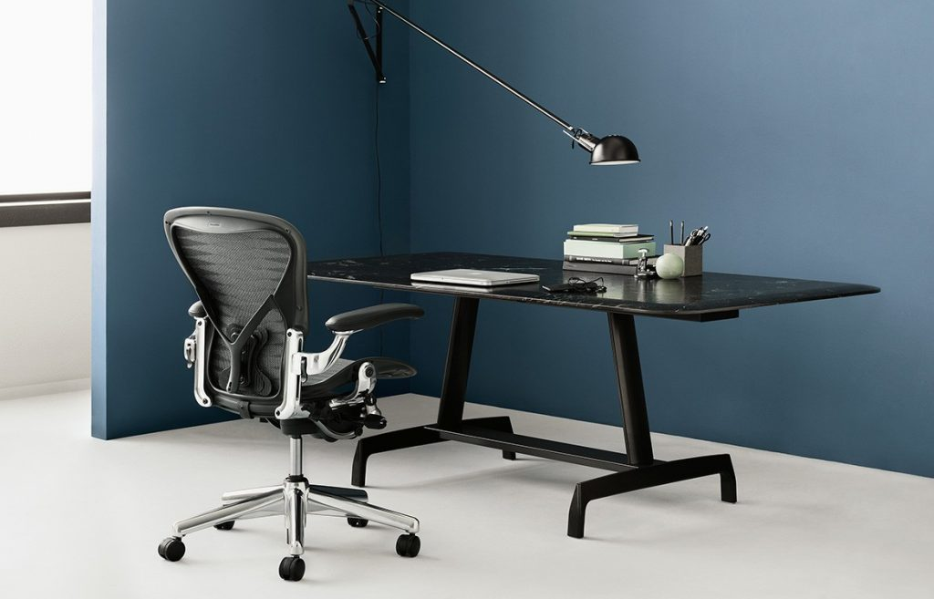 Aeron remastered chair living edge indesign in focus furniture for the modern wrokplace