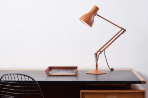 Angelpoise Lamp Orange