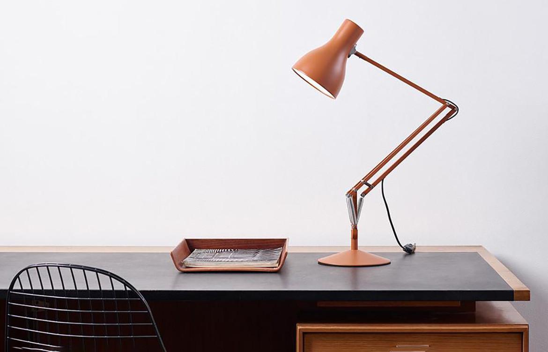 Angelpoise Lamp Orange