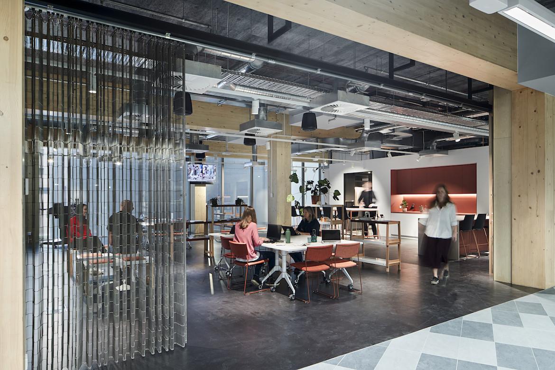 Architectus' Melbourne Entrepreneurial Centre office