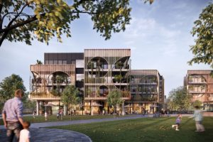 Artisan Residences, designed by Technē Architecture + Design, render courtesy Glenvill.