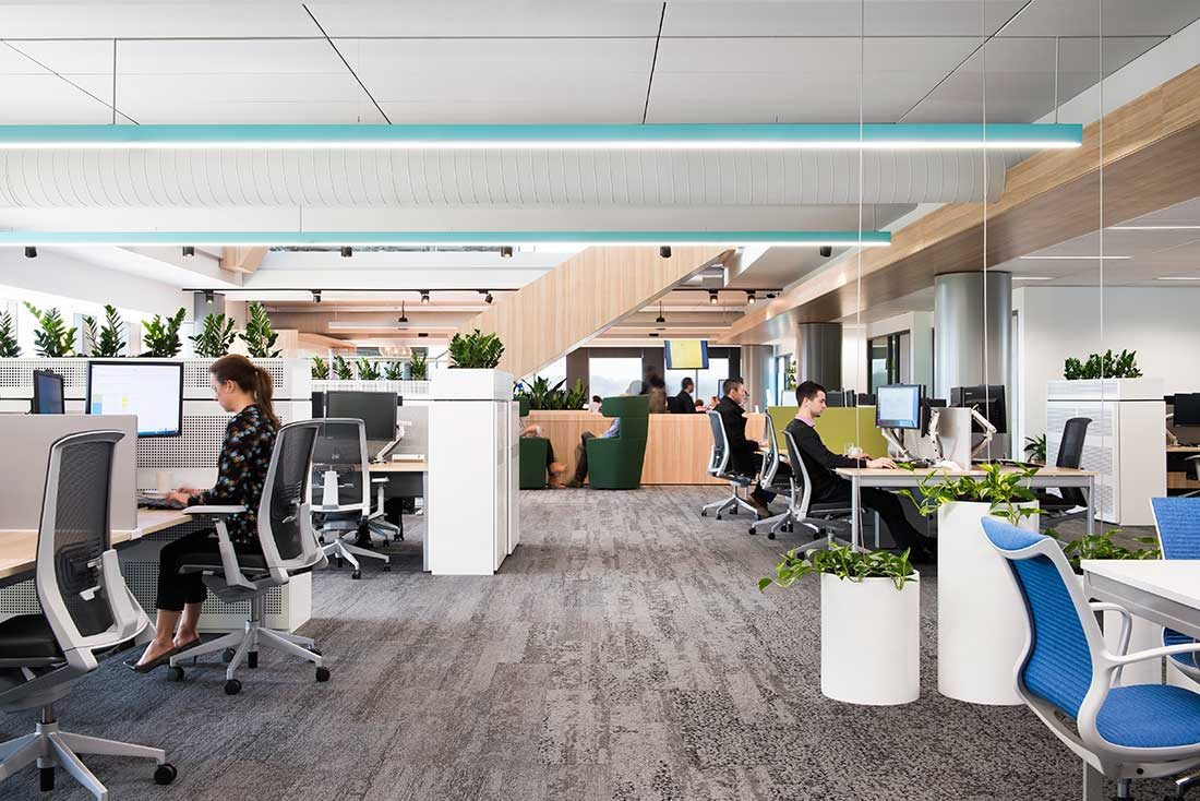 The Agile Zone: AstraZeneca's New Zoned Work SpaceThe Indesign Collection
