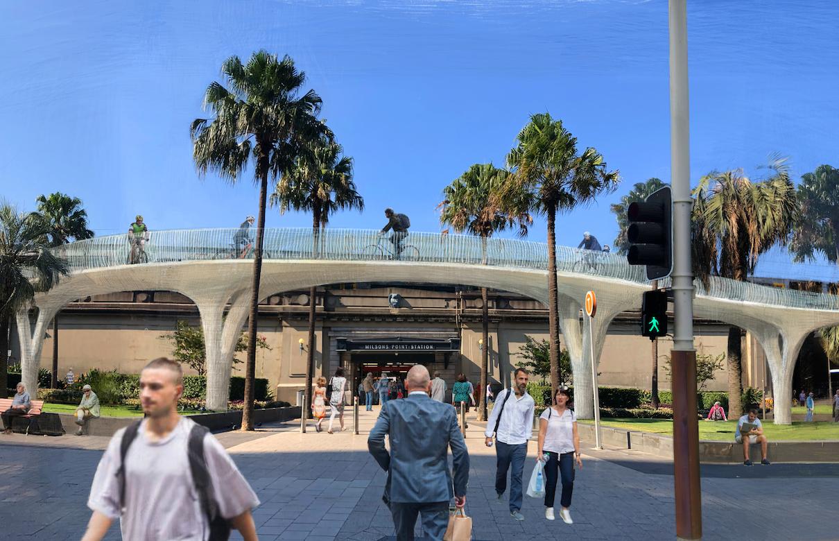 Wanted: Iconic design for Sydney Harbour Bridge bike ramp