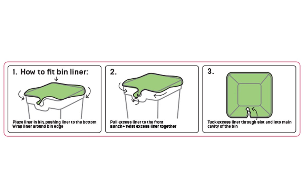 method clear bin liners 3